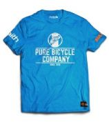 Pure T Shirt Adult Blue